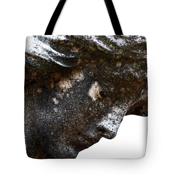Bowed Head In Silence Tote Bag