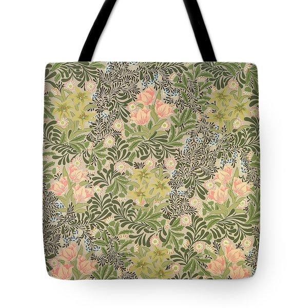 Bower Design Tote Bag by William Morris