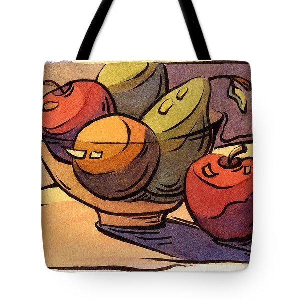 Bowl Of Fruit 8 Tote Bag