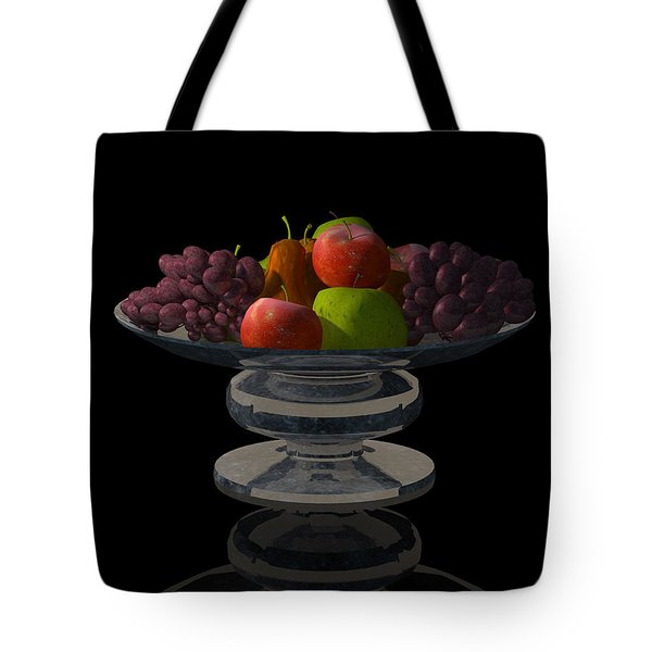 Bowl Of Fruit... Tote Bag by Tim Fillingim