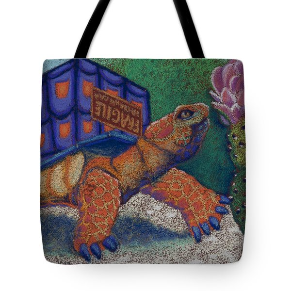 Box Turtle Tote Bag by Tracy L Teeter
