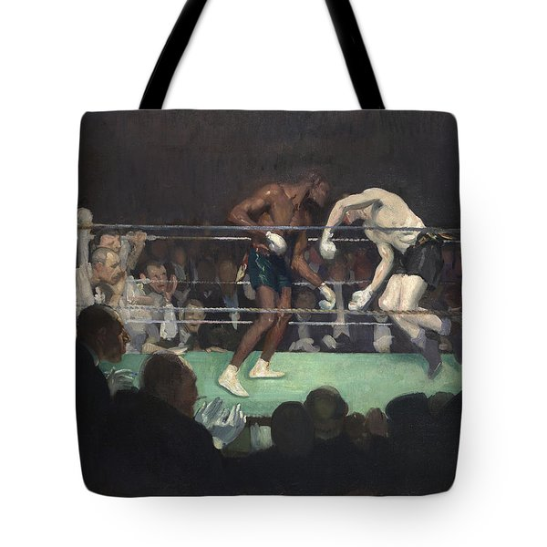 Boxing Match, 1910 Tote Bag by George Luks