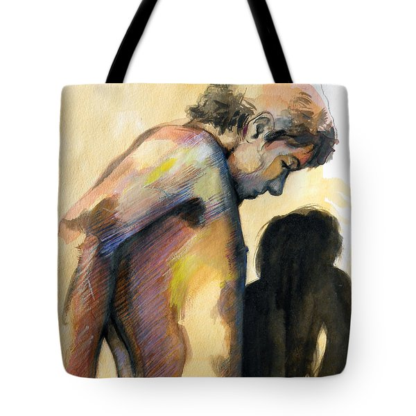 Boy Looking For Truth Tote Bag