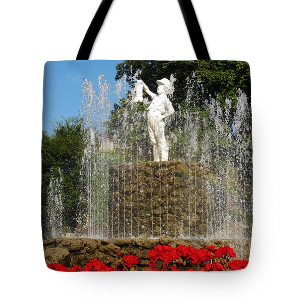 Boy With The Boot 3 Tote Bag by Shawna Rowe