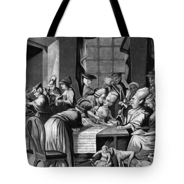 Boycott Of British Tea Tote Bag by Granger