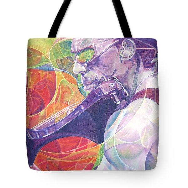 Boyd Tinsley And Circles Tote Bag by Joshua Morton