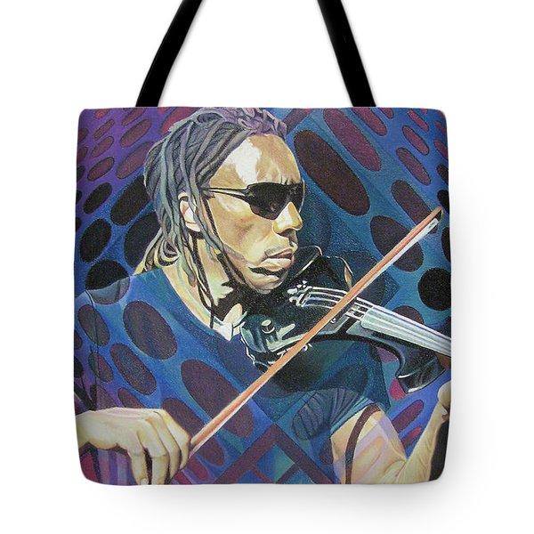 Boyd Tinsley Pop-op Series Tote Bag by Joshua Morton