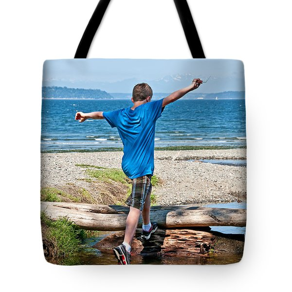 Boyhood Fun Art Prints Tote Bag