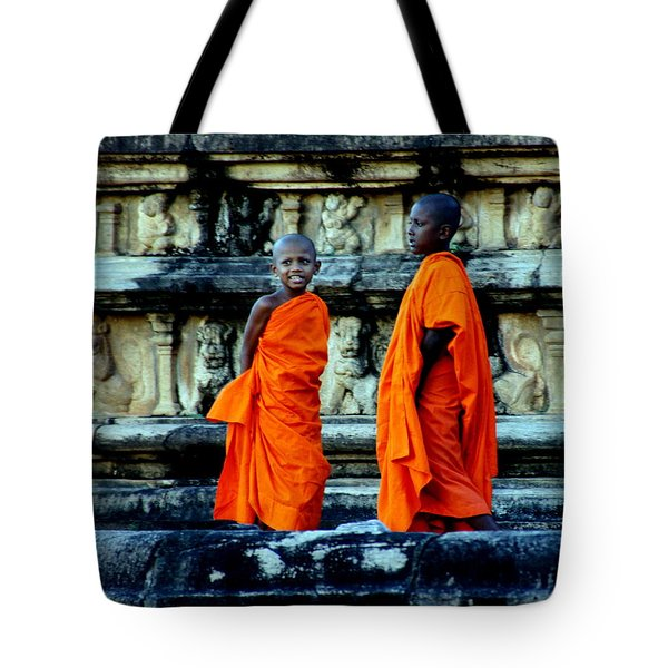 Boys In Training Tote Bag