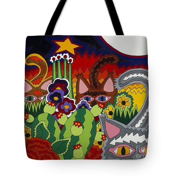 Boys Night Out Tote Bag by Rojax Art