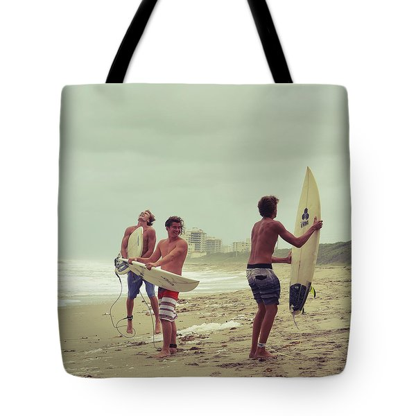 Boys Of Summer Tote Bag