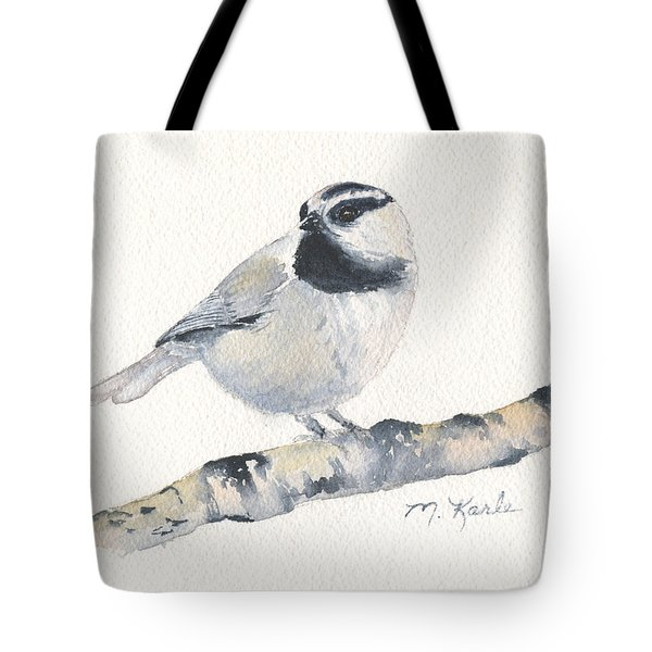 Bozeman Native - Mountain Chickadee Tote Bag