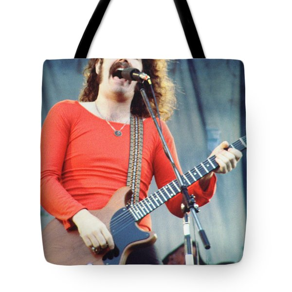 Brad Delp Of Boston-day On The Green 1 In Oakland Ca 5-6-79 1st Release Tote Bag