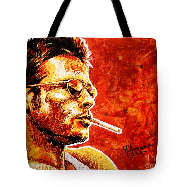 Brad Tote Bag by Maria Arango