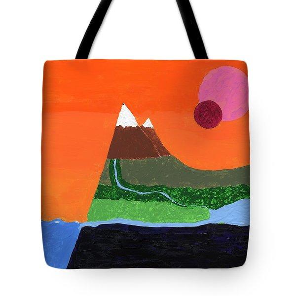 Bradbury Landscape Tote Bag