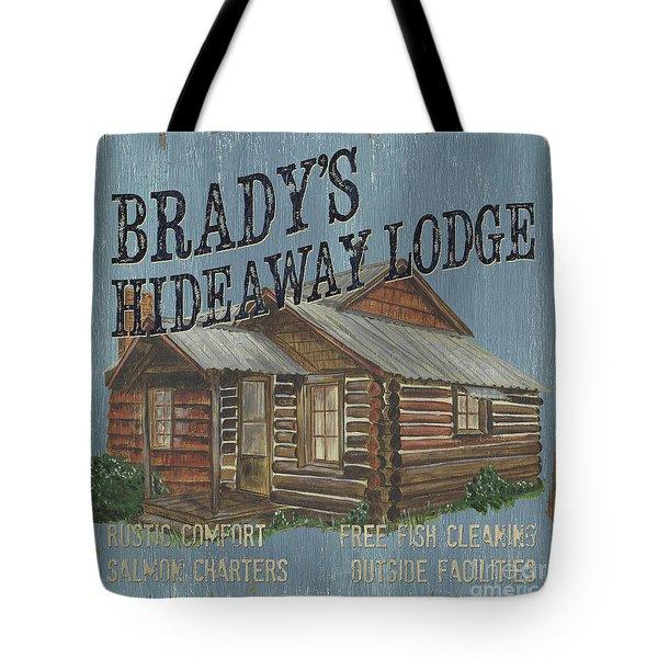 Brady's Hideaway Tote Bag