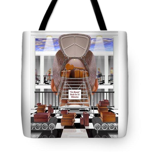 Brain Luggage 2 Tote Bag by Mike McGlothlen