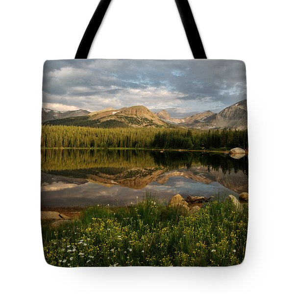 Tote Bag featuring the photograph Brainard Lake by Ronda Kimbrow