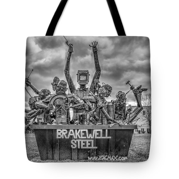 Brakewell Steel Tote Bag