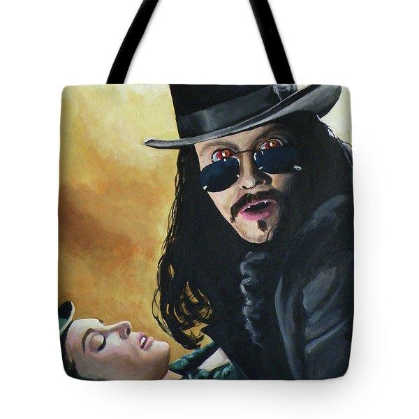 Bram Stoker's Dracula Tote Bag by Tom Carlton