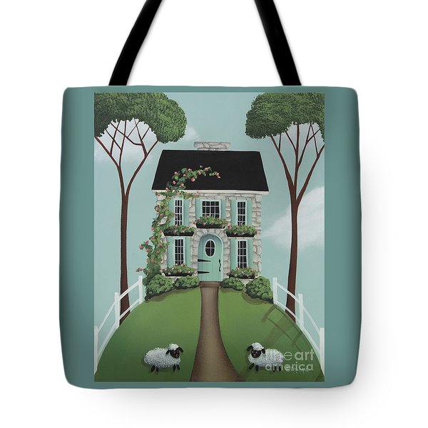 Brambleberry Cottage Tote Bag by Catherine Holman