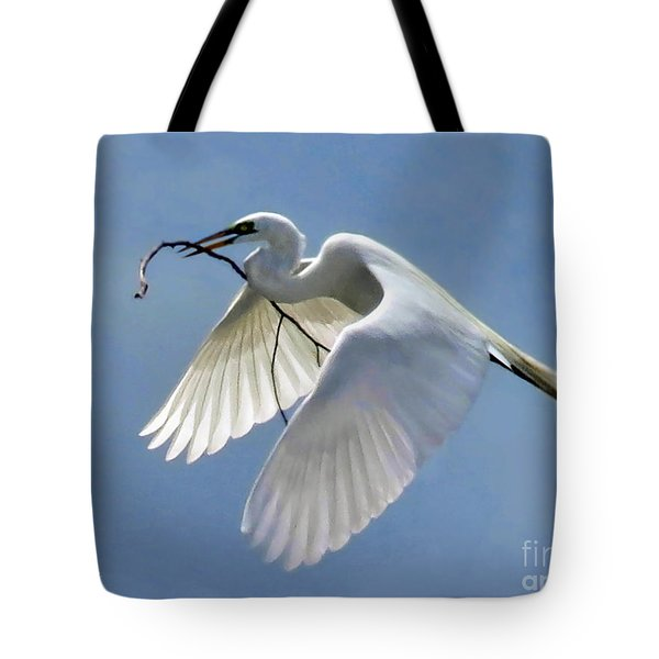Branch Of Peace Tote Bag by Jennie Breeze