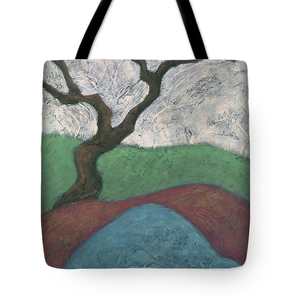 Branches And Water Tote Bag