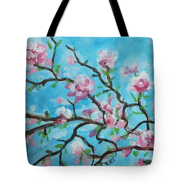 Branches In Bloom Tote Bag by Elizabeth Robinette Tyndall