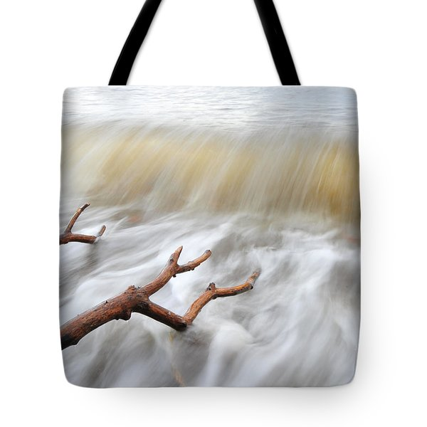 Tote Bag featuring the photograph Branches In Water by Randi Grace Nilsberg