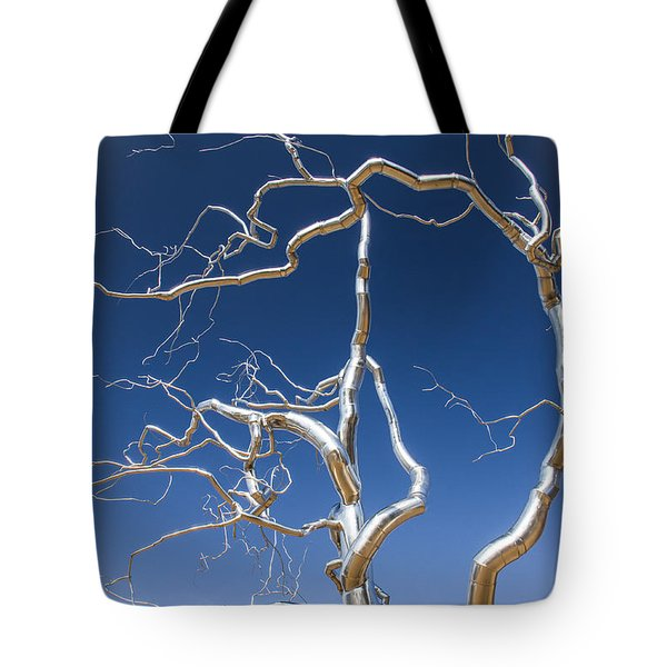 Branches Of Silver Tote Bag
