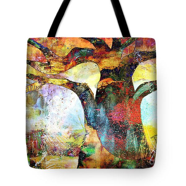 Branching Out Tote Bag by Fania Simon