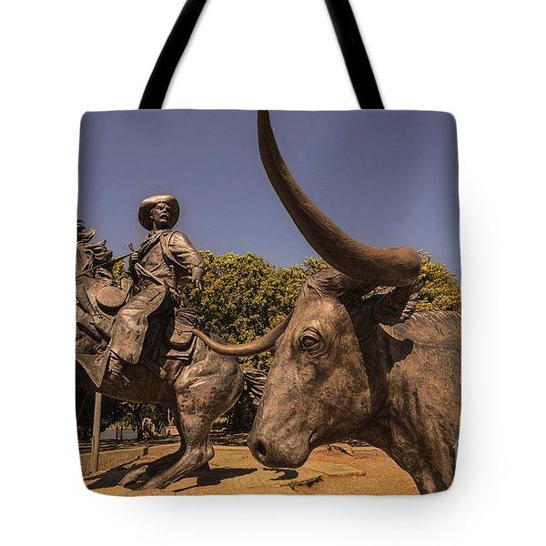 Branding The Brazos Tote Bag
