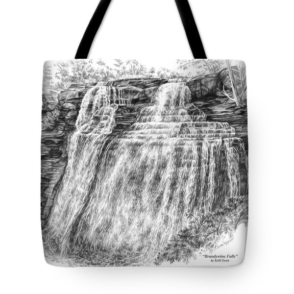 Brandywine Falls - Cuyahoga Valley National Park Tote Bag