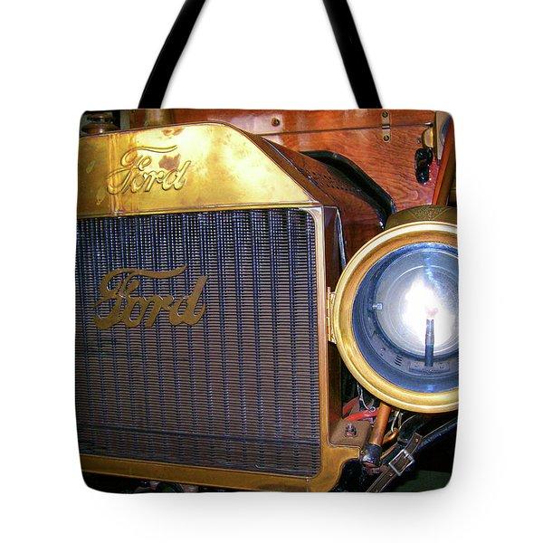 Brass Eye Tote Bag