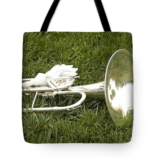 Tote Bag featuring the photograph Brass In Grass by Carol Lynn Coronios