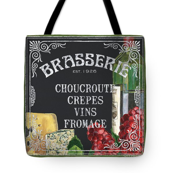 Brasserie Paris Tote Bag