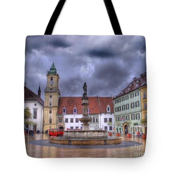 Bratislava Old Town Hall Tote Bag