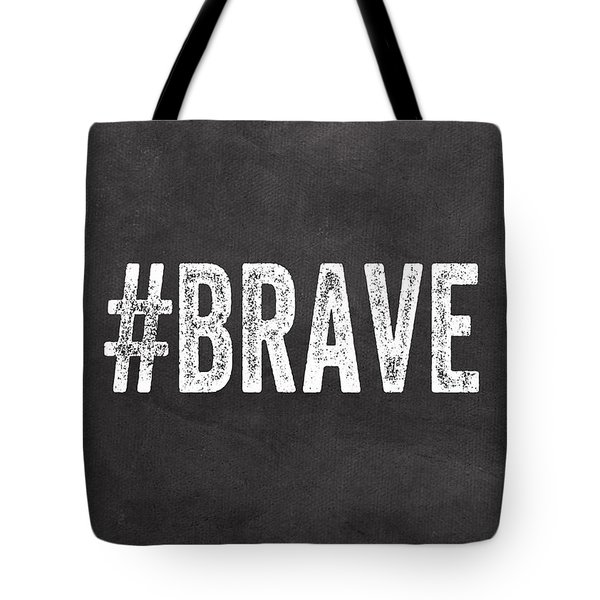 Brave Card- Greeting Card Tote Bag