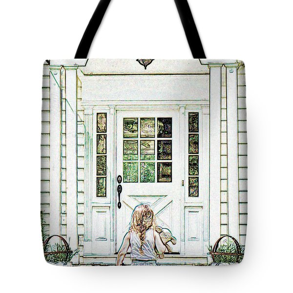 Brave Determination Tote Bag