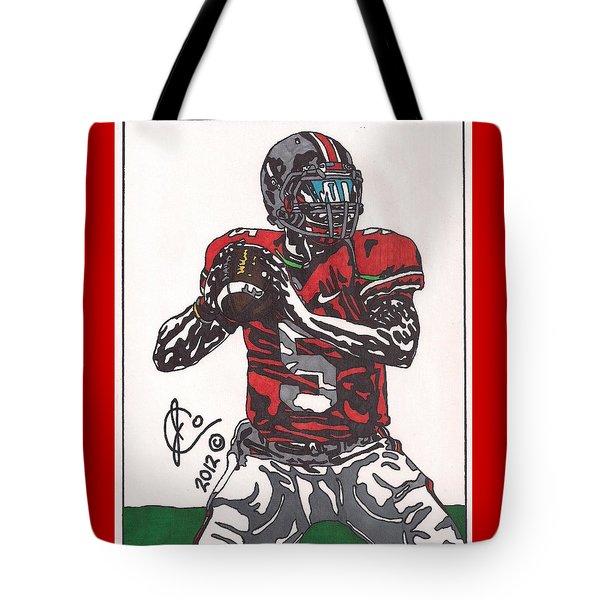 Braxton Miller 1 Tote Bag by Jeremiah Colley