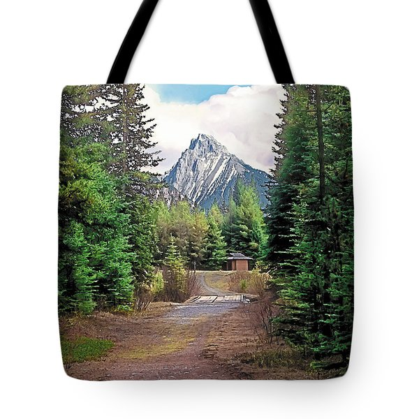 Break In The Weather Tote Bag by Terry Reynoldson