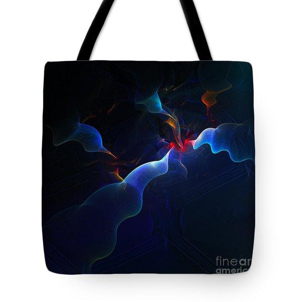 Break-out Tote Bag by Klara Acel