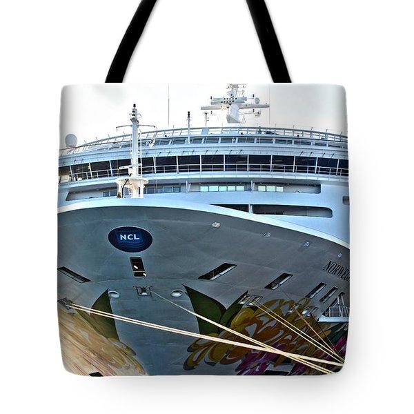 Breakaway Norwegian Tote Bag
