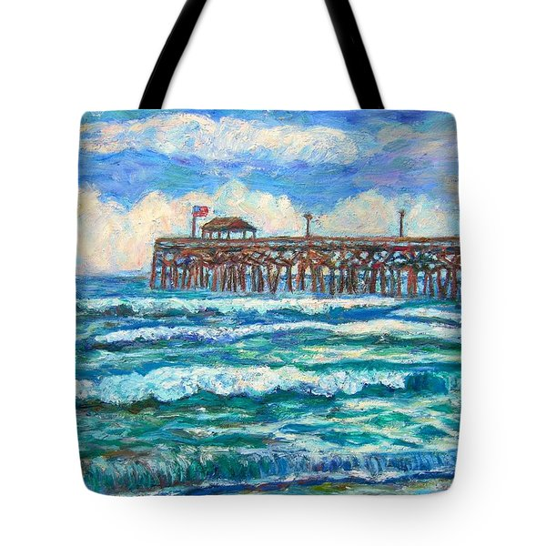 Breakers At Pawleys Island Tote Bag
