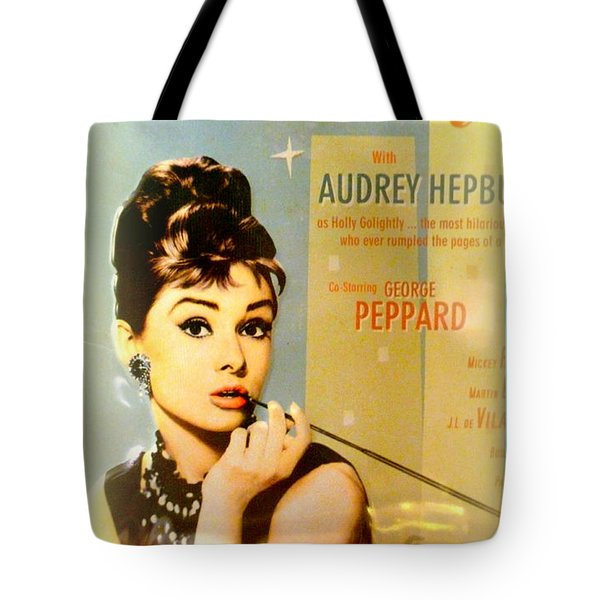Breakfast At Tiffany Tote Bag by The Creative Minds Art and Photography