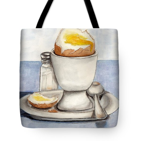 Breakfast Is Ready Tote Bag by Kelly Mills