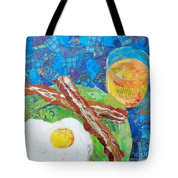 Breakfast Is Ready Tote Bag