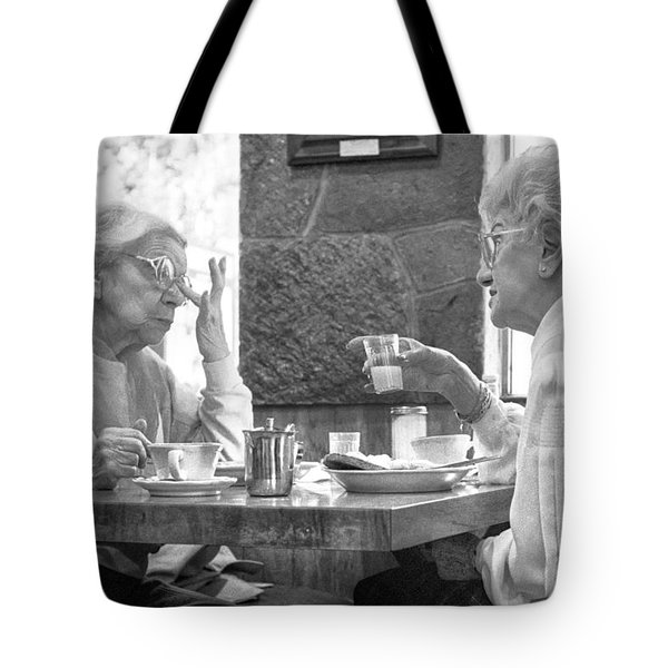 Breakfast Ladies Tote Bag
