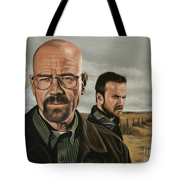 Breaking Bad Tote Bag by Paul Meijering