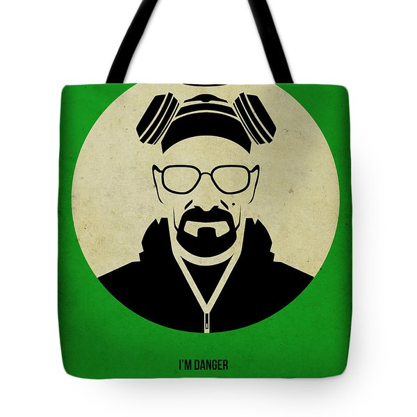 Breaking Bad Poster Tote Bag by Naxart Studio